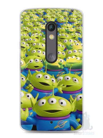 Capa Capinha Moto X Play Aliens Toy Story #2