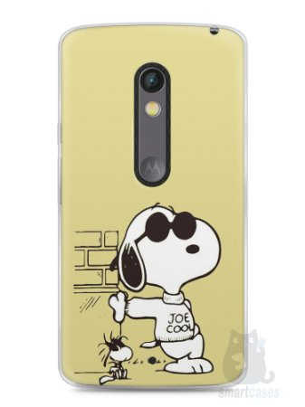 Capa Capinha Moto X Play Snoopy #10