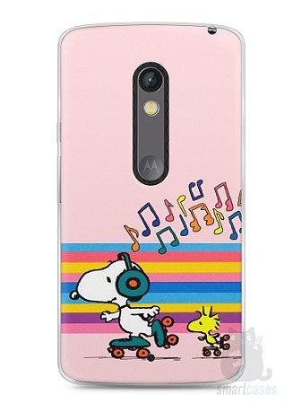 Capa Capinha Moto X Play Snoopy #17