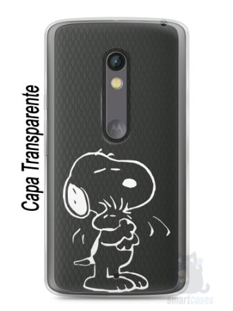 Capa Capinha Moto X Play Snoopy #28