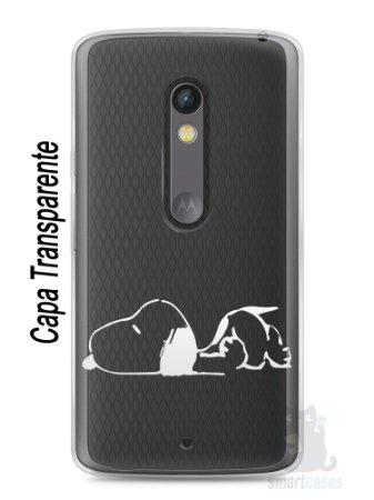 Capa Capinha Moto X Play Snoopy #30