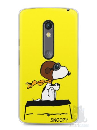 Capa Capinha Moto X Play Snoopy #31