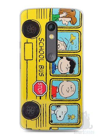 Capa Capinha Moto X Play Snoopy #32
