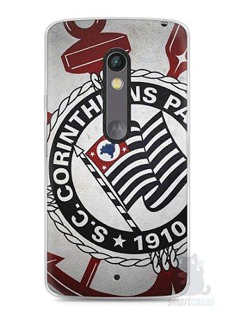 Capa Capinha Moto X Play Time Corinthians #1