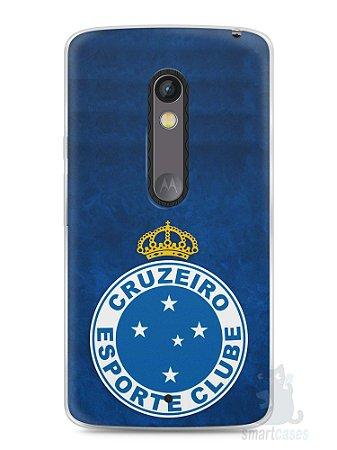 Capa Capinha Moto X Play Time Cruzeiro #3