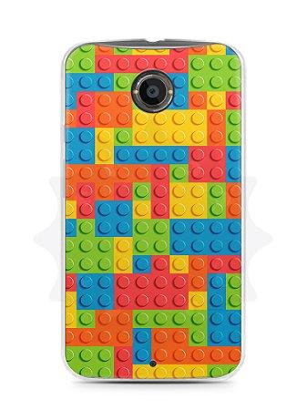 Capa Capinha Moto X2 Lego