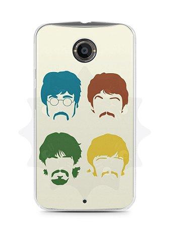 Capa Capinha Moto X2 The Beatles #1
