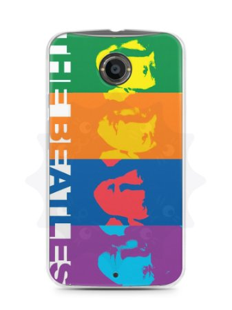 Capa Capinha Moto X2 The Beatles #2