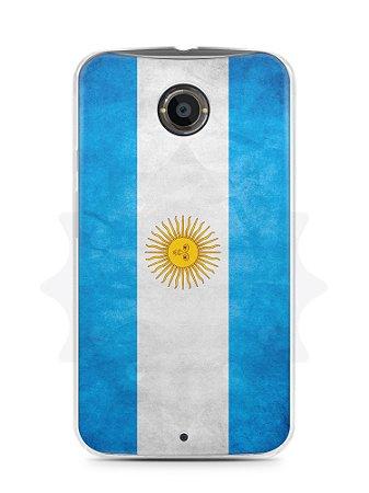 Capa Capinha Moto X2 Bandeira da Argentina #2