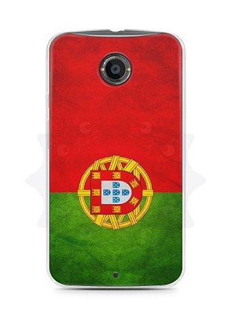 Capa Capinha Moto X2 Bandeira de Portugal
