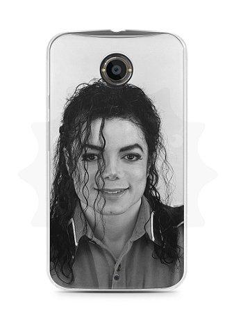 Capa Capinha Moto X2 Michael Jackson #7
