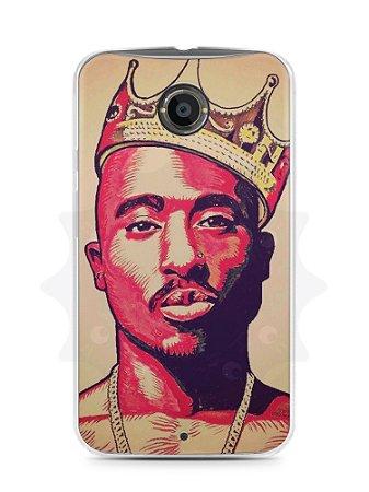 Capa Capinha Moto X2 Tupac Shakur #1