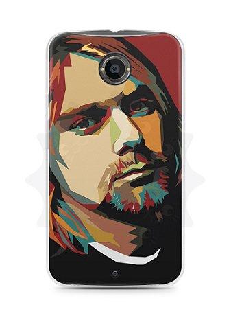 Capa Capinha Moto X2 Kurt Cobain #1