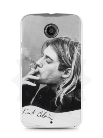 Capa Capinha Moto X2 Kurt Cobain #2