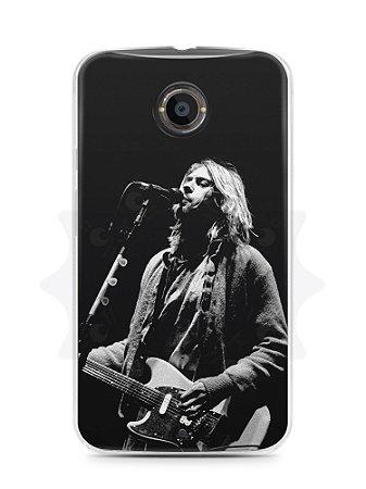 Capa Capinha Moto X2 Kurt Cobain #3