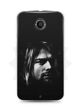Capa Capinha Moto X2 Kurt Cobain #4