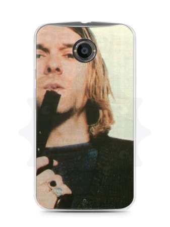 Capa Capinha Moto X2 Kurt Cobain #5