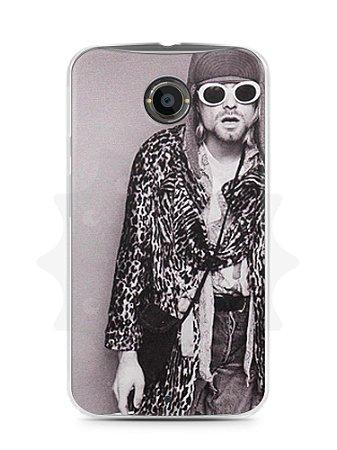 Capa Capinha Moto X2 Kurt Cobain #7