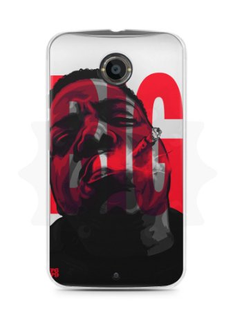 Capa Capinha Moto X2 The Notorious B.I.G. #3