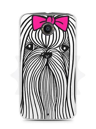 Capa Capinha Moto X2 Cachorro Chitzu