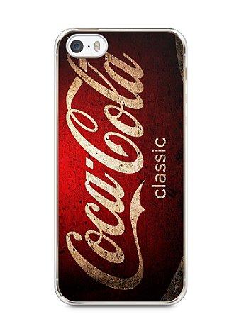 Capa Iphone 5/S Coca-Cola Classic