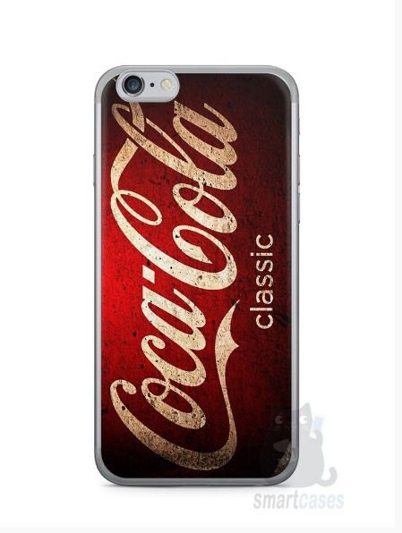 Kit com 3 Capinhas Coca-Cola Classic 2 Iphone 6 e 1 Iphone 6 Plus