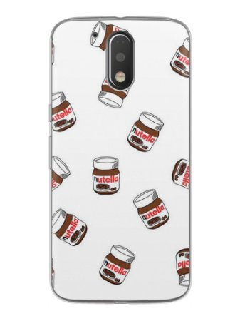 Capa Capinha Celular Motorola Moto G4 G4 Plus Nutella #5