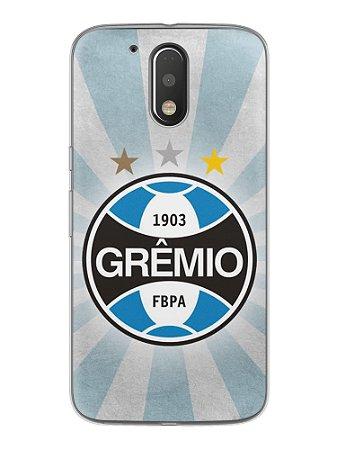 Capa Capinha Celular Motorola Moto G4 G4 Plus Time Grêmio
