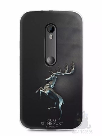 Capa Capinha Motorola Moto G3 Game Of Thrones Baratheon