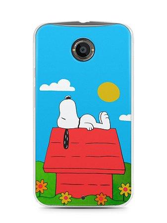 Capa Capinha Motorola Moto X2 Snoopy #8