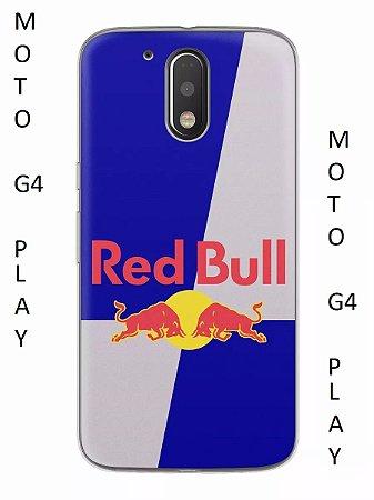 Capa Capinha Motorola Moto G4 PLAY Red Bull