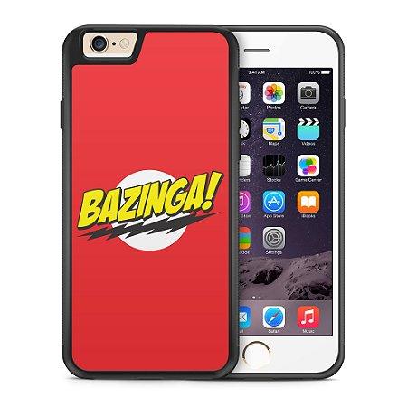 Capa Capinha Apple Iphone 6/6S The Bang Theory Bazinga #1