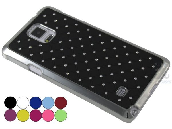 Capa Samsung Note 4 Strass Luxo