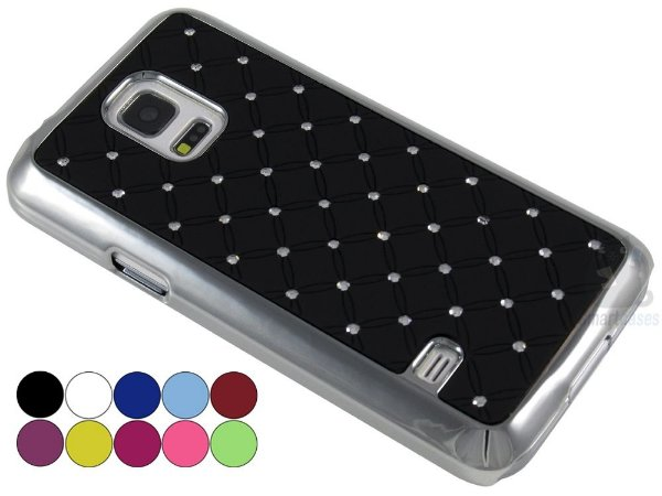 Capa Samsung S5 Mini Strass Luxo