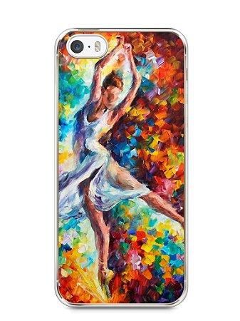 Capa Iphone 5/S Bailarina Pintura