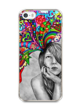 Capa Iphone 5/S Menina Sonhadora