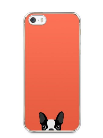 Capa Iphone 5/S Cachorro Bulldog Francês #1