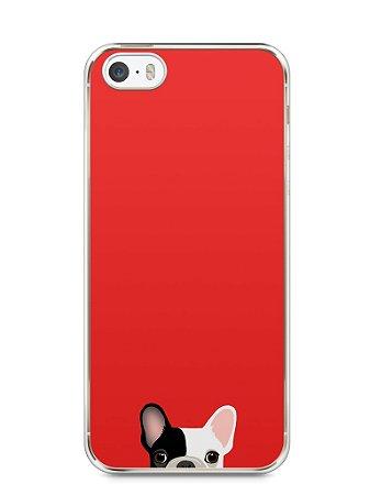 Capa Iphone 5/S Cachorro Bulldog Francês #2