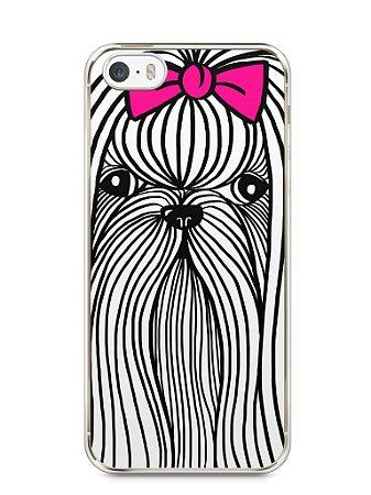 Capa Iphone 5/S Cachorro Chitzu