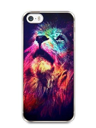 Capa Iphone 5/S Leão Colorido #3