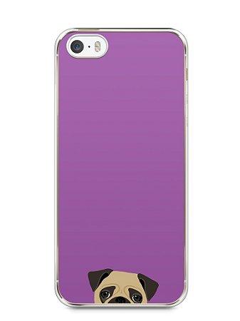 Capa Iphone 5/S Cachorro Pug