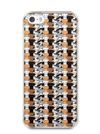 Capa Iphone 5/S Gatos