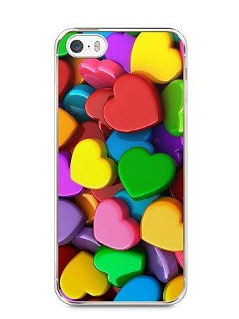 Capa Iphone 5/S Corações