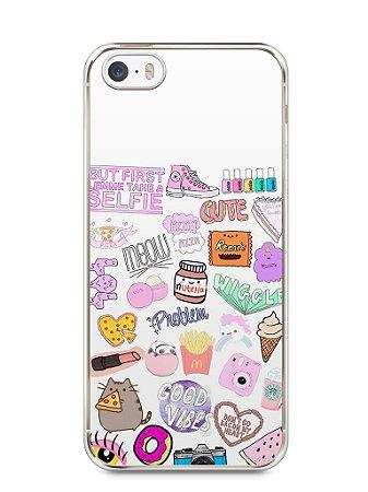 Capa Iphone 5/S Coisas de Menina