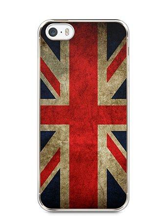 Capa Iphone 5/S Bandeira da Inglaterra