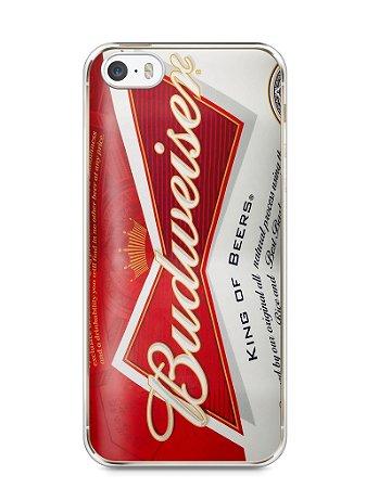 Capa Iphone 5/S Cerveja Budweiser