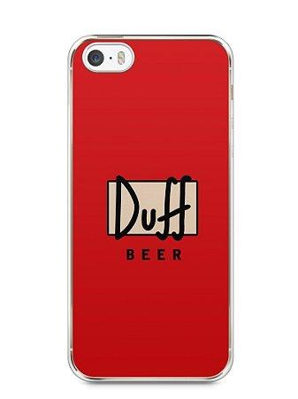 Capa Iphone 5/S Cerveja Duff