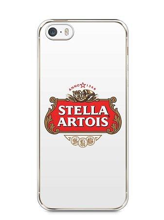 Capa Iphone 5/S Cerveja Stella Artois
