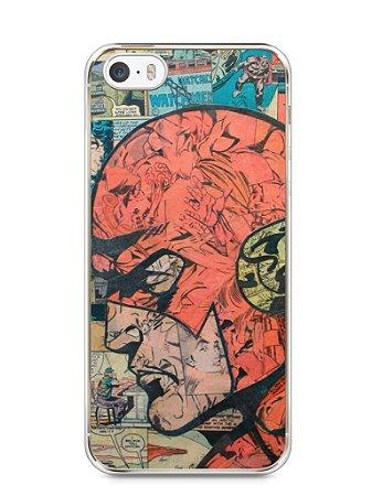 Capa Iphone 5/S The Flash Comic Books #1