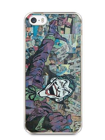 Capa Iphone 5/S Coringa Comic Books